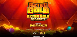 Aztec Gold Megaways Intro Screen