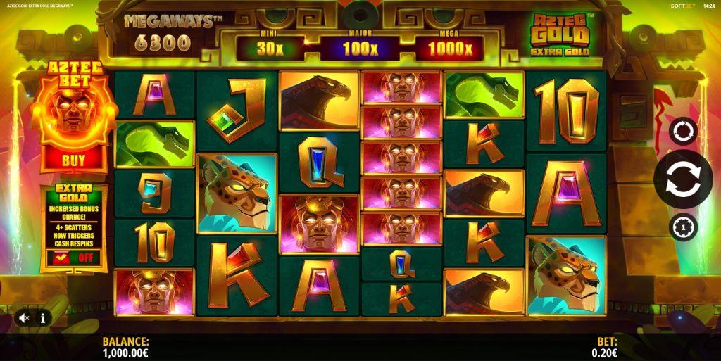 Aztec Gold Megaways Slots