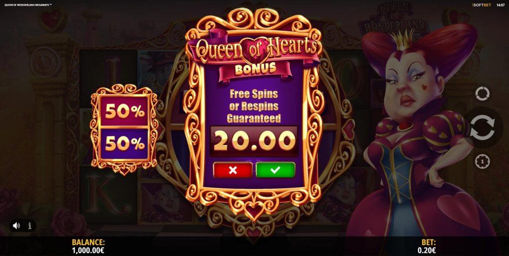 Queen of Wonderland Megaways Online Slot